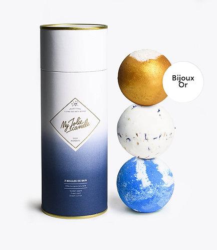 COFFRET COSY MOMENTS (AVEC BIJOU) - COLLIER GOLD