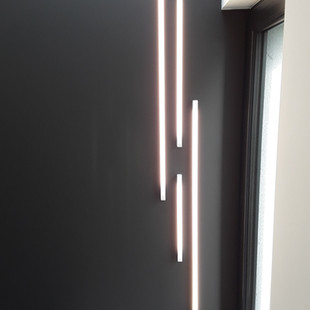 lampe ambiance escalier