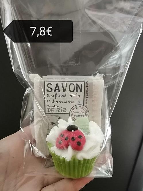 Savon + cup