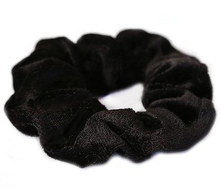 CHOUCHOU velours noir