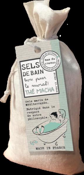 Sel de bain Thé Macha