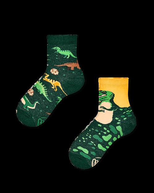 chaussettes dépareillées Dinosaure