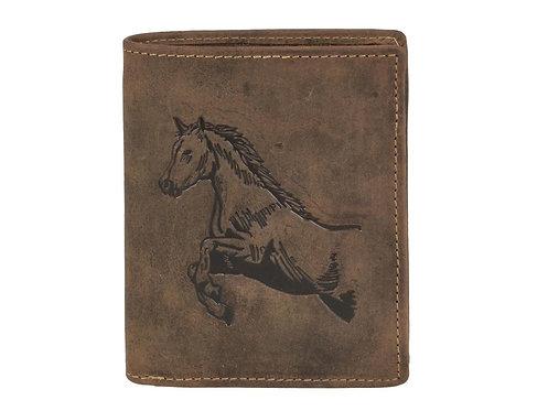 Portefeuille cuir Horse