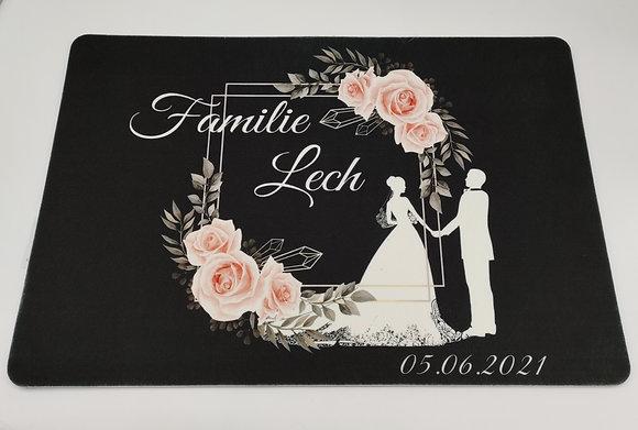"""Fußmatte """"Hochzeit"""" 40x60cm"""