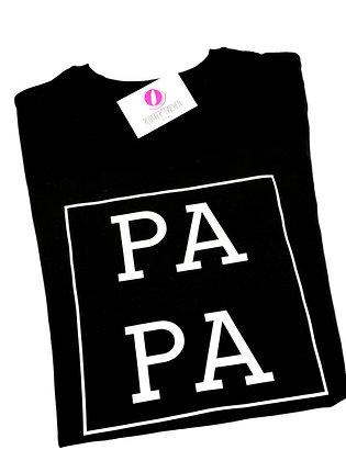 """PA PA"" T-Shirt schwarz oder weiß"