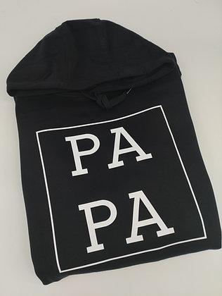 PA PA Hoodie in weiß oder schwarz