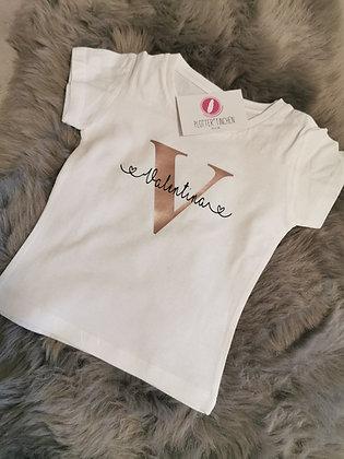 personalisiertes Kinder T-Shirt mit Namen