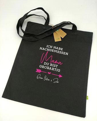 Mama Bio-Stofftasche 340g/m² mit Namen personalisiert