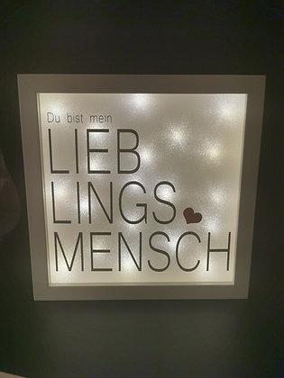 """""""LIEBLINGSMENSCH"""" Rahmen"""
