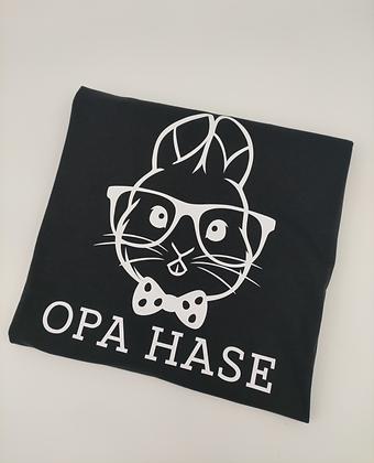 Hasen Herren T-Shirt schwarz personalisiert