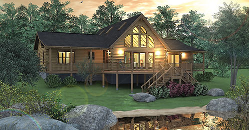 Real Log Home