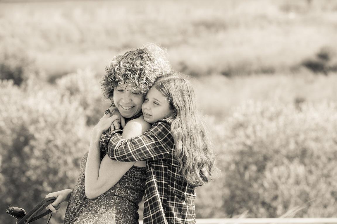 צילום אמא ובת