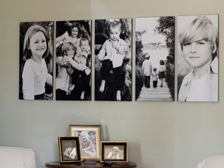 כך תכינו קיר תמונות משפחתיות בביתכם DIY