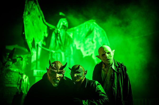 Western Canada's Scariest Haunt returns tonight to possess Playland