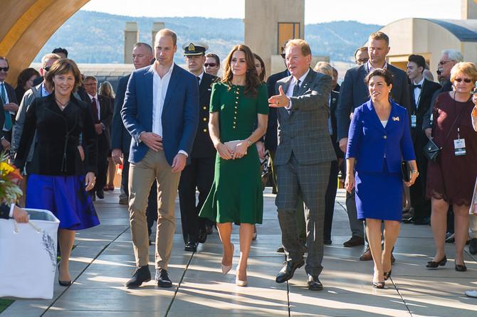 Duke and Duchess of Cambridge visits Kelowna