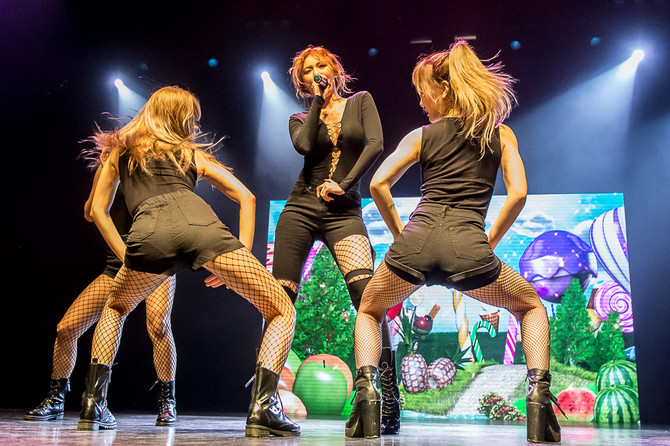 HyunA brings down the house at Hard Rock Casino Vancouver