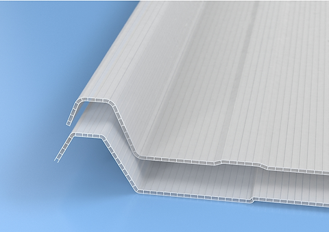 LIGHT multiwall corrugated sheets