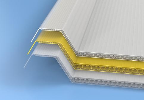 Greca polycarbonate multiwall corrugated sheets | polyworldsys