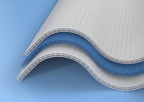ONDA polycarbonate multiwall corrugated sheets