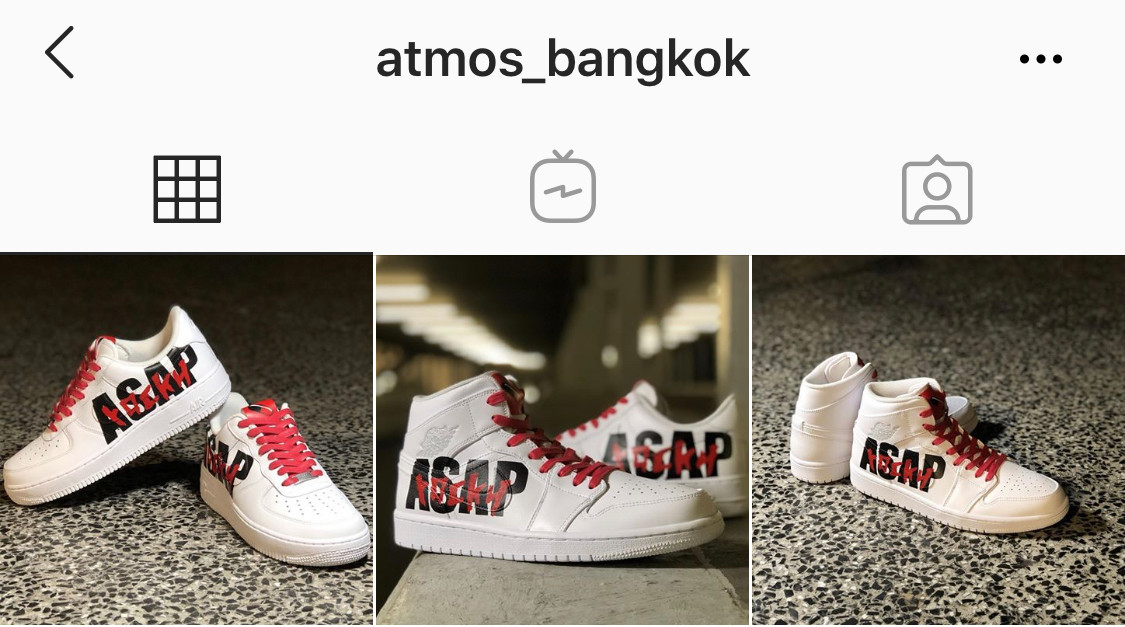 The Flying Hawk Studio X Atmos Bang Kok - A$AP AKILLA AJ1 & AF1