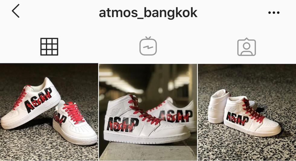 The Flying Hawk Studio X Atmos Bang Kok - A$AP AKILLA AJ1 & AF1