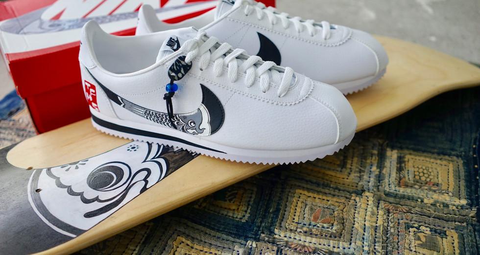 WechatITFHS x Simple Union – Nike Cortez Koinobori