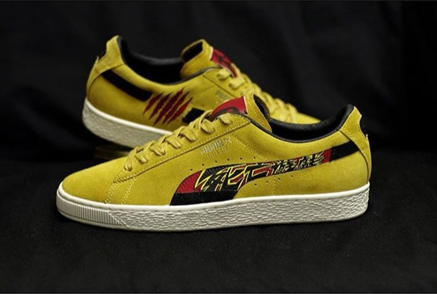 Puma Suede - Game of Death 🐲_._With the