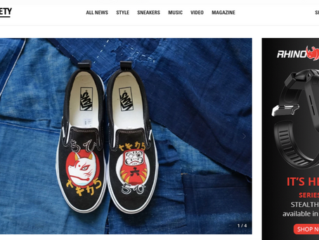 HIGHSNOBIETY - New Custom Vans Capsule Pays Homage to Traditional Japanese Iconography