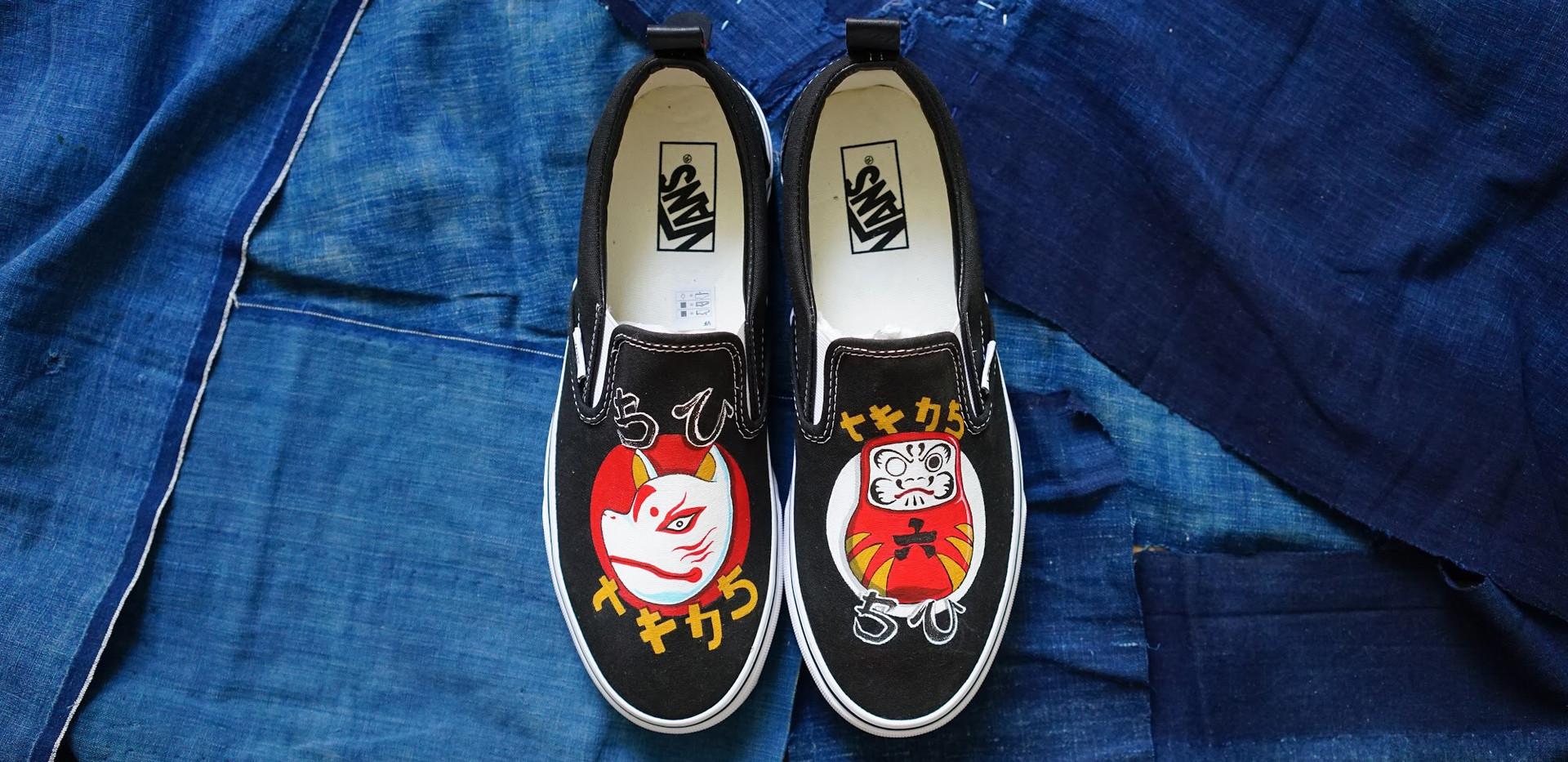 Simple Union X T.F.J.S. Vans - Cultural of Japanese