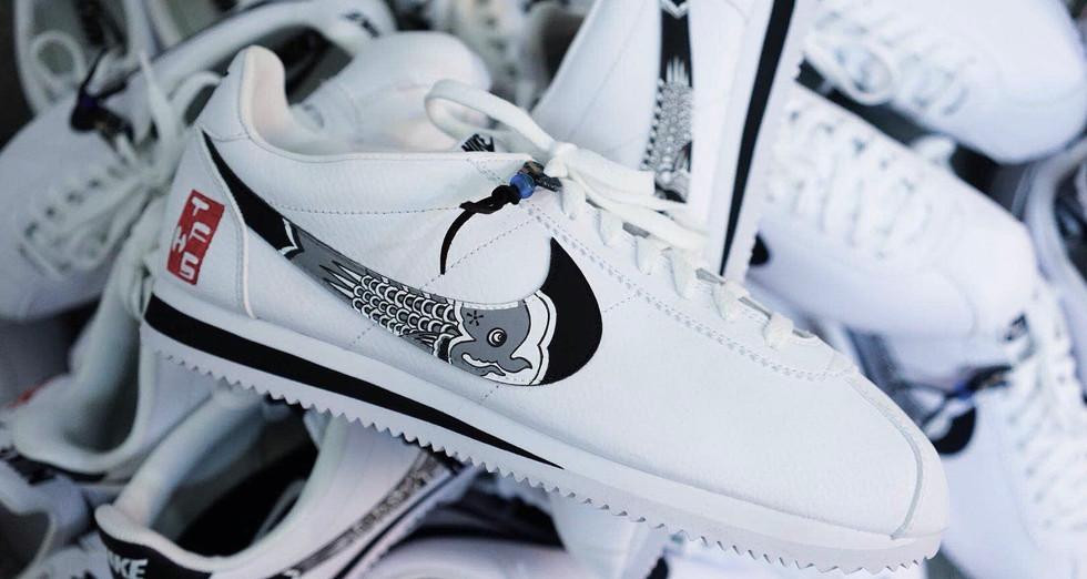 TFHS x Simple Union – Nike Cortez Koinobori