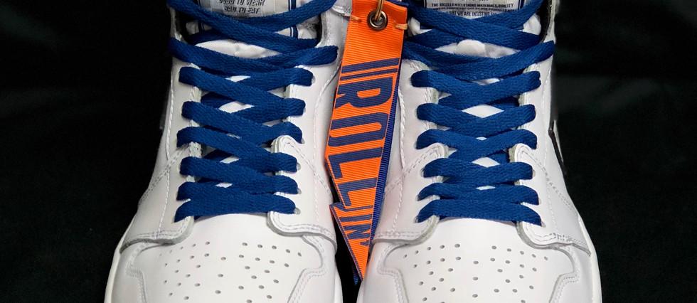 """ Rollin' X T.F.H.S. Air Jordan 1 """