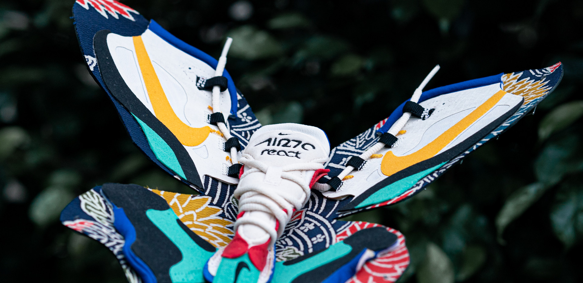 Nike Airmax 270 React-React of Butterfly