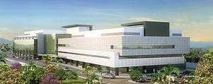 Maquete eletrônia hospital Unimed