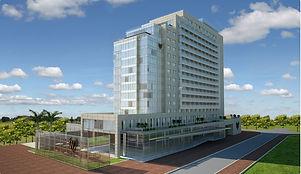 Maquete eletrônica hotel Windsor-Barra