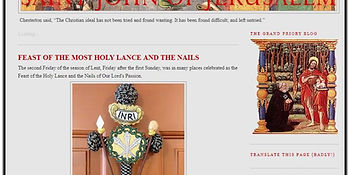 Feast of most holy lance.JPG