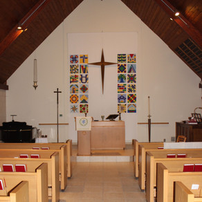 Sanctuary Reopening Reformation Sunday, October 25
