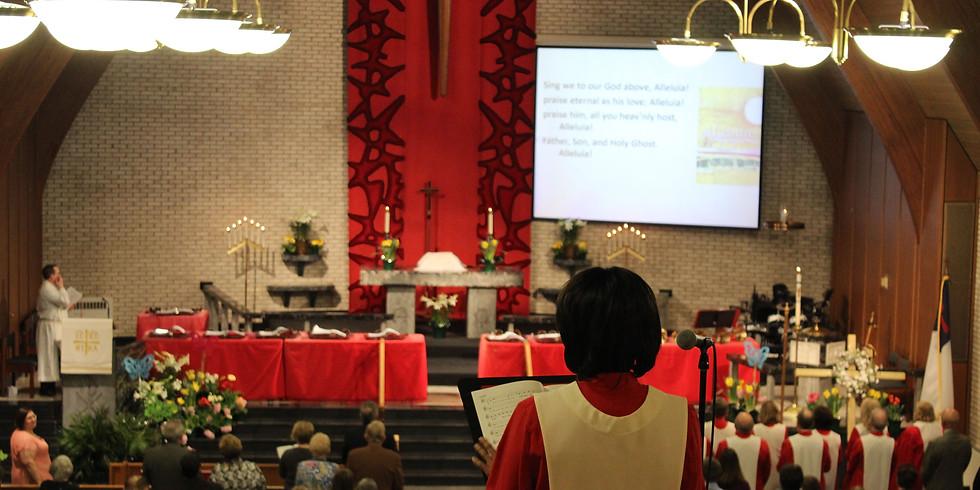 November 1, 2020 Indoor Worship