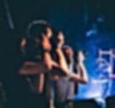Bir konserde Müzik Fotoğrafçılar