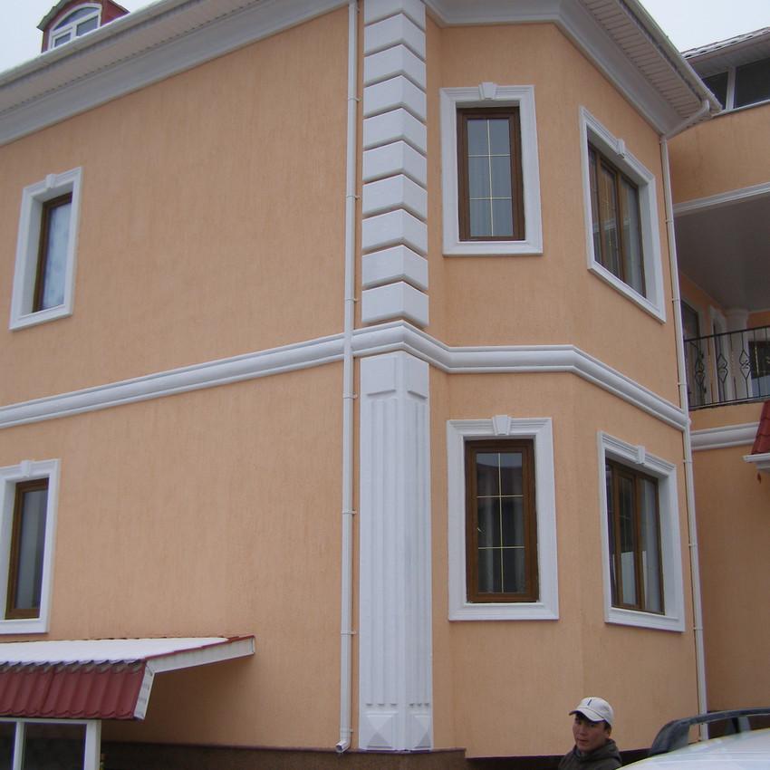 Фасадные элементы из пенопласта