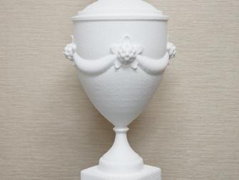 Кубок из пенопласта на фрезерном станке СРП-4612