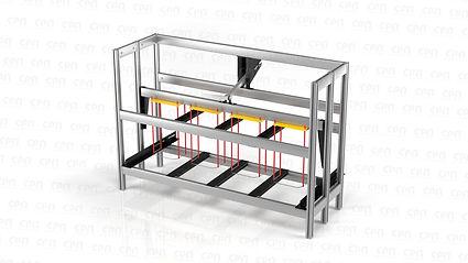 Станок для резки технологических отверстий в блоках несъемной опалубки СРП-Б БЛОК