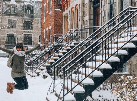 Alizée a vécue 2 hiver à Montréal