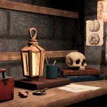 3D - Spooky Crime Scene