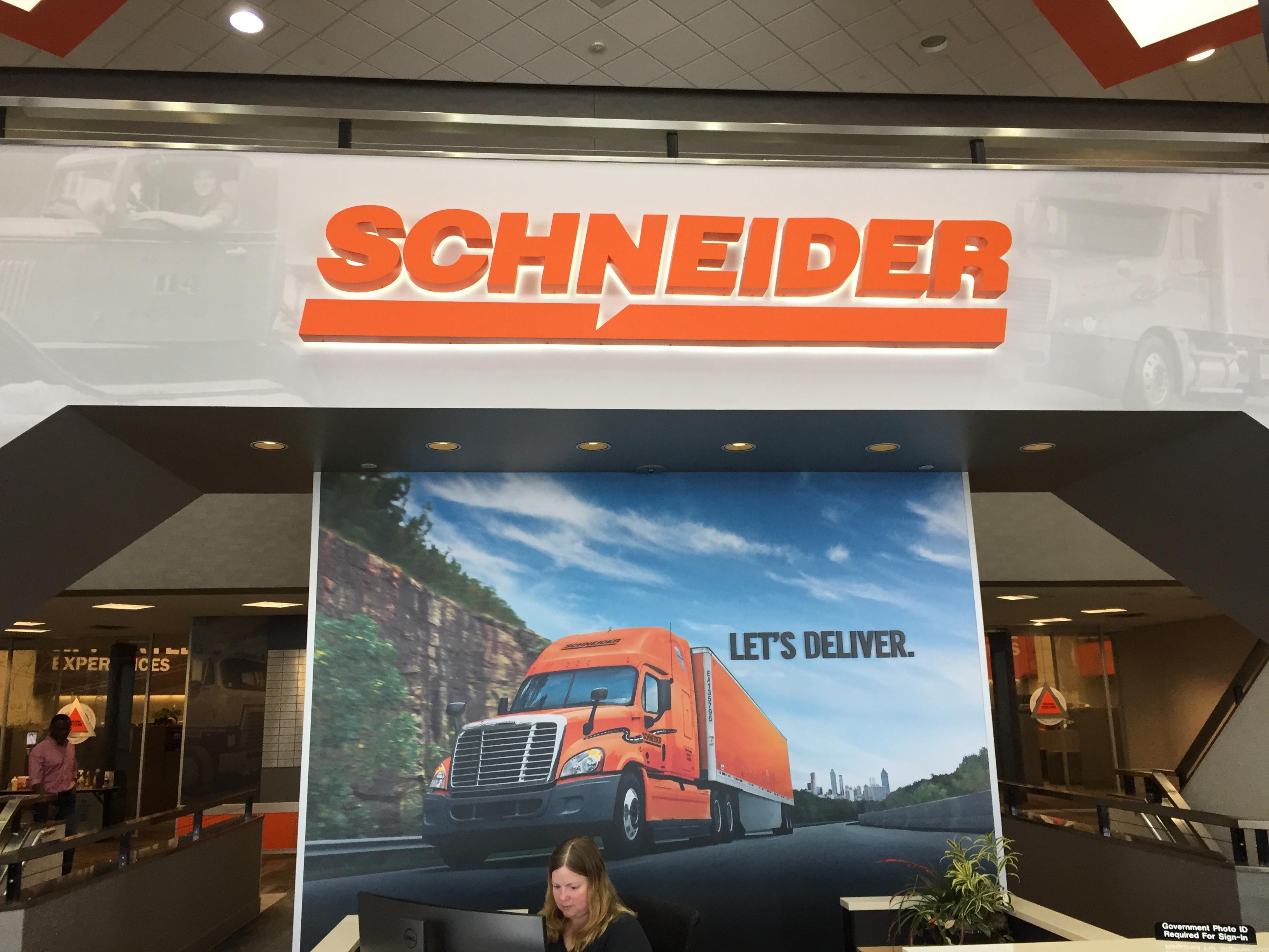 Schneider Entry_Reception