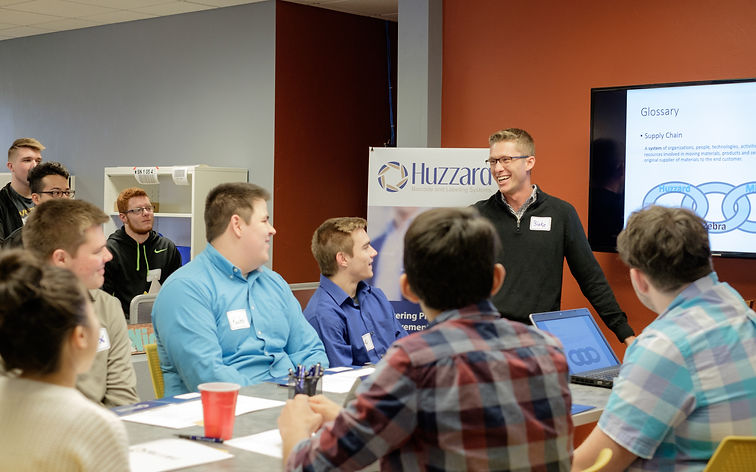 Huzzard Systems hosts Career Based Learning event for Appleton Area School District