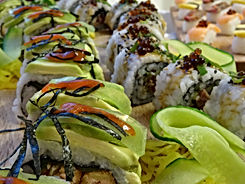 Sushi in the comfort of your home