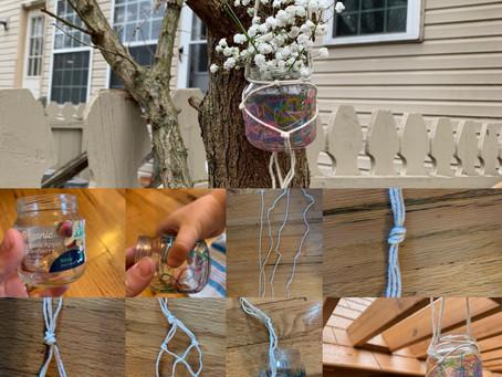 Day 3 of #artagainstcoronavirus : Hanging Planter
