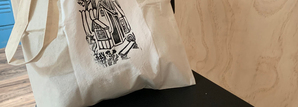 Eco Shopping Bag- Cottage- $8