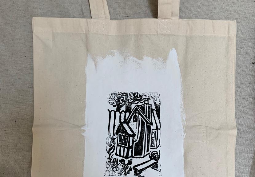 Eco Shopping Bag-- Cottage- $8
