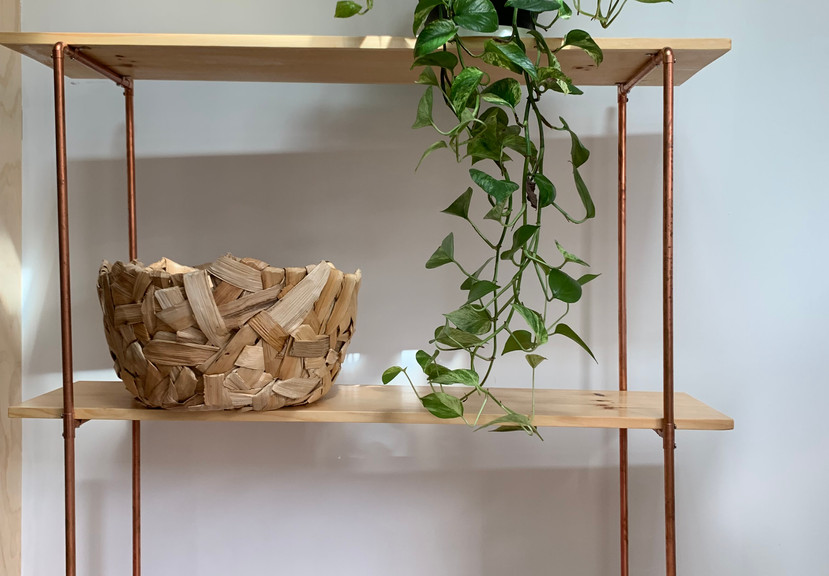 Copper & Pine Shelf